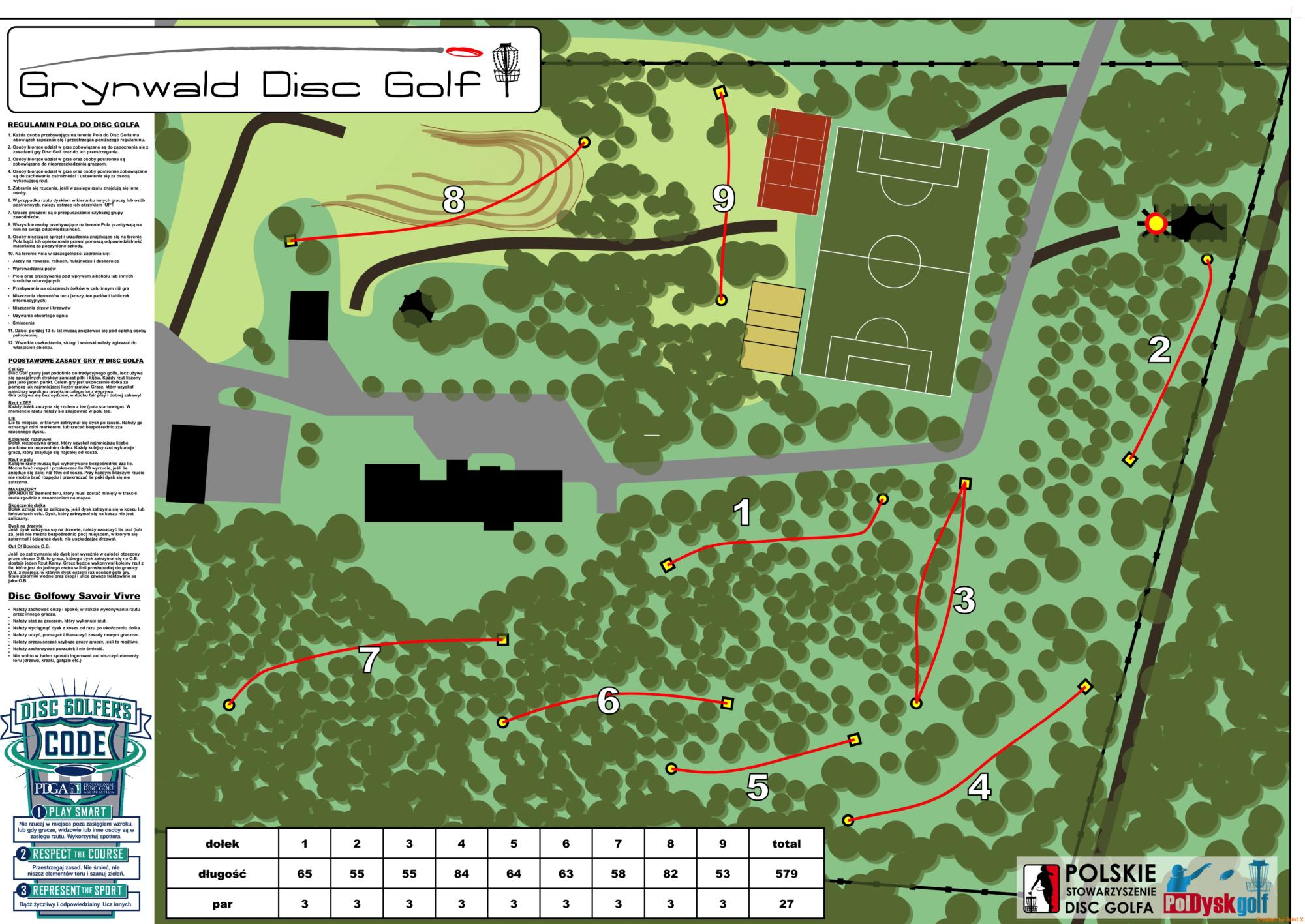 Grynwald Mapa Ośrodka