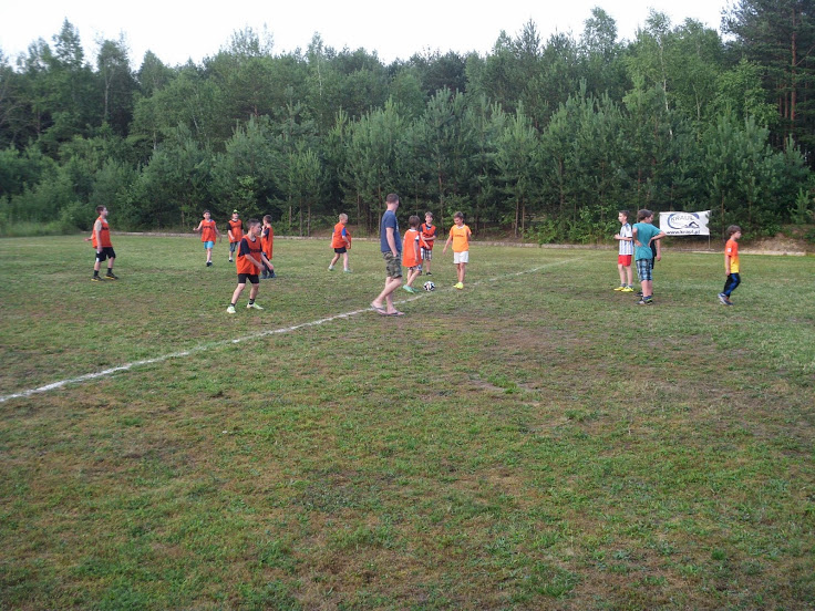 Boisko do piłki nożnej w Pensjonacie Grynwald