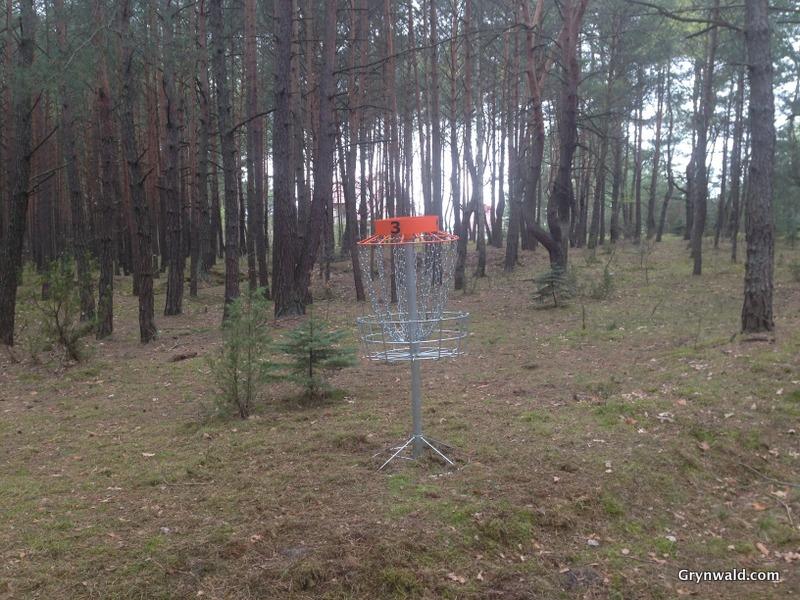 Grynwald Disc Golf Hole nr.3 Target