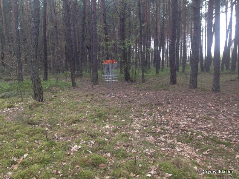 Grynwald Disc Golf Hole nr.5 Target
