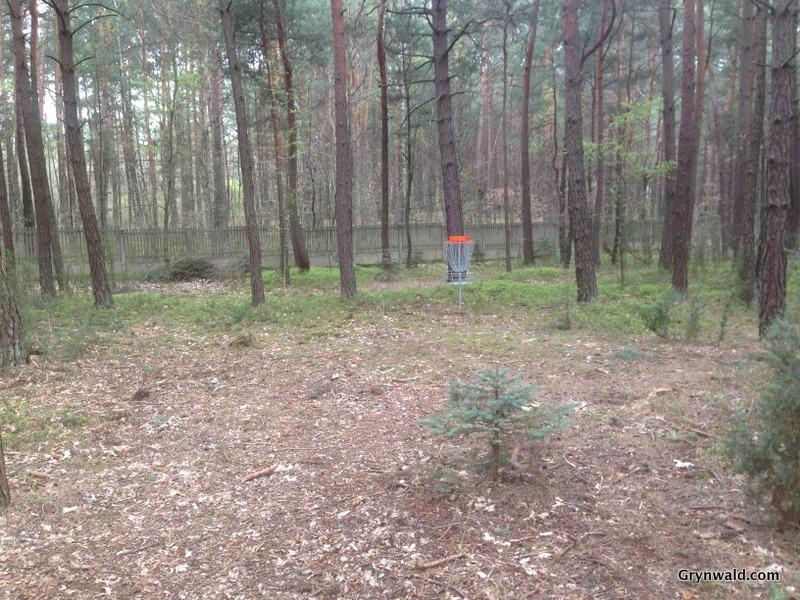 Grynwald Disc Golf Hole nr.7 Target