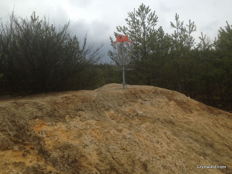 Grynwald Disc Golf Hole nr.8 Target